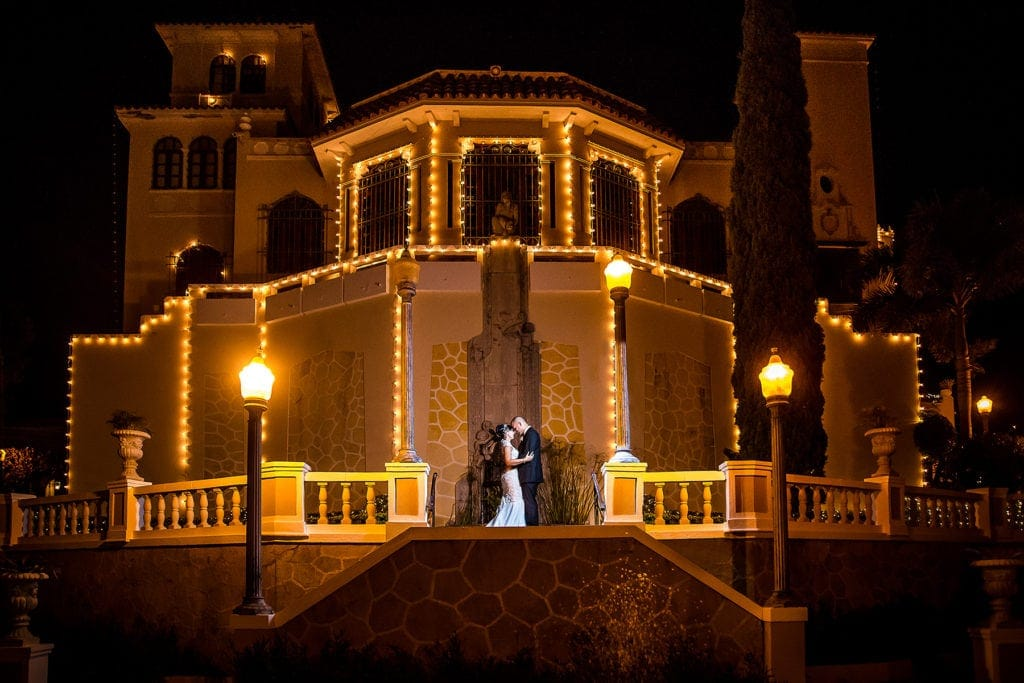 An Outdoor Wedding Located at the Castillo Serrallés in Ponce, Puerto Rico. Alexandra y Brian's Destination Wedding.